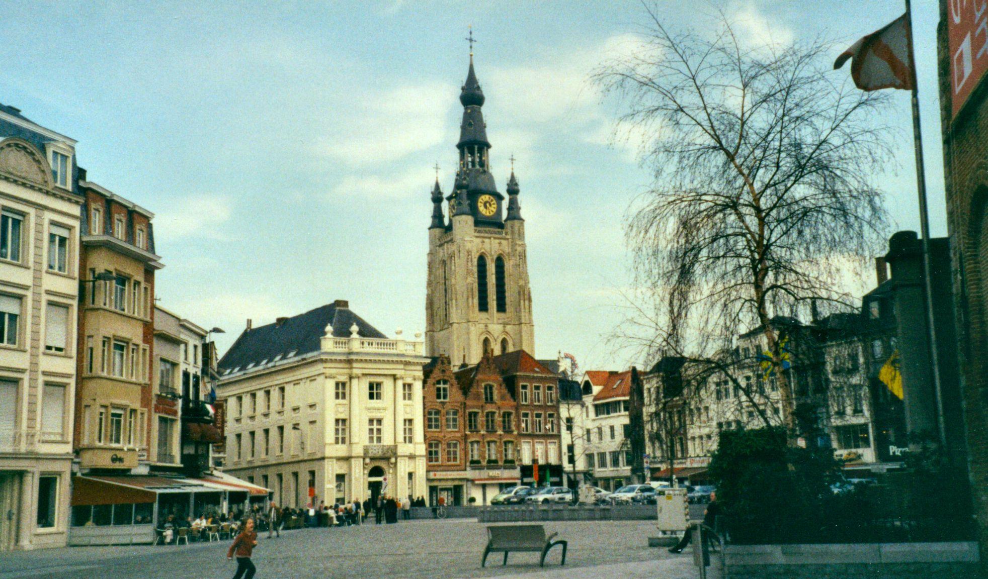 ofbeeldienge kortrijk aka courtrai in belgium