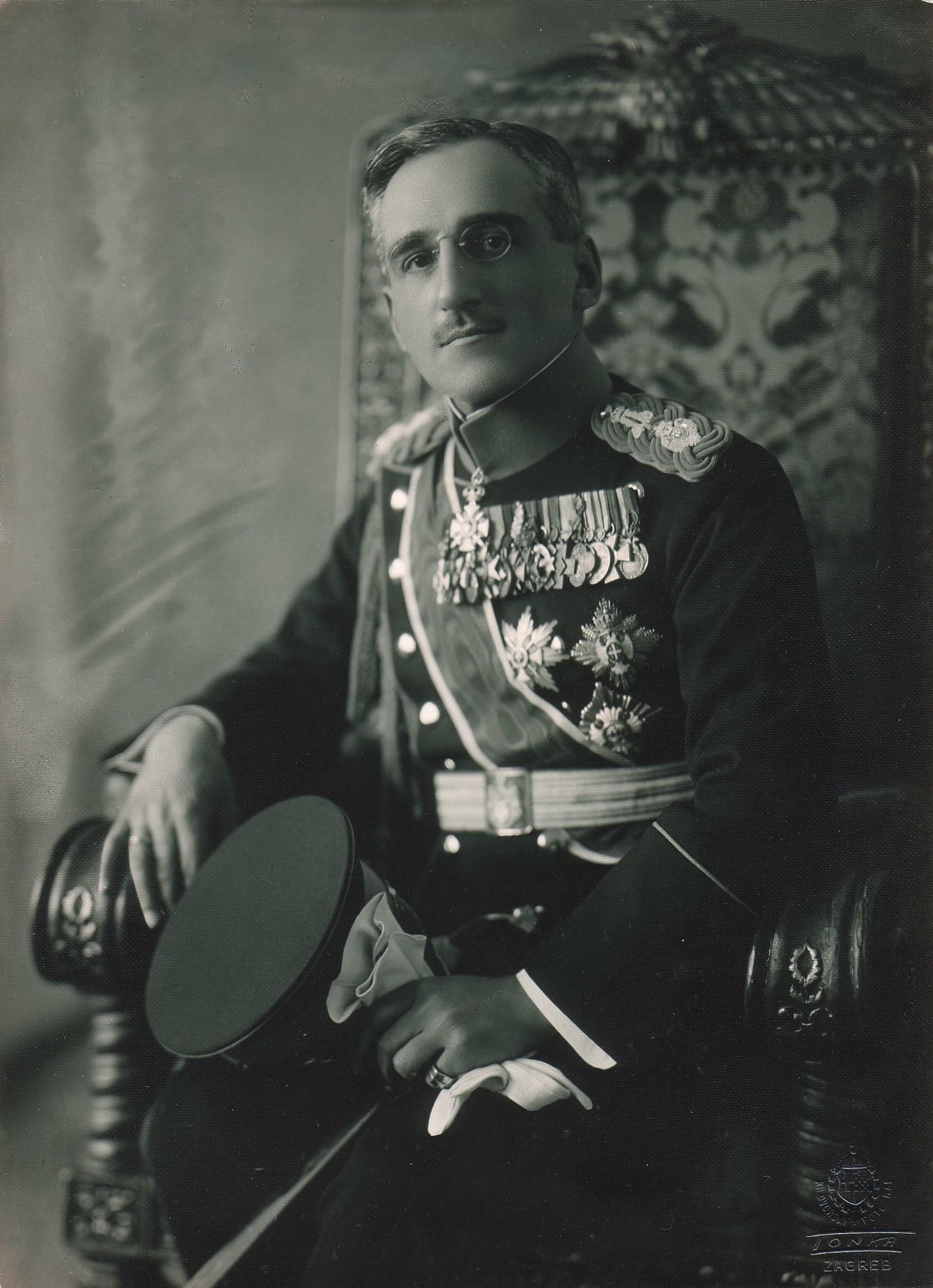 Le roi Alexandre Ier.