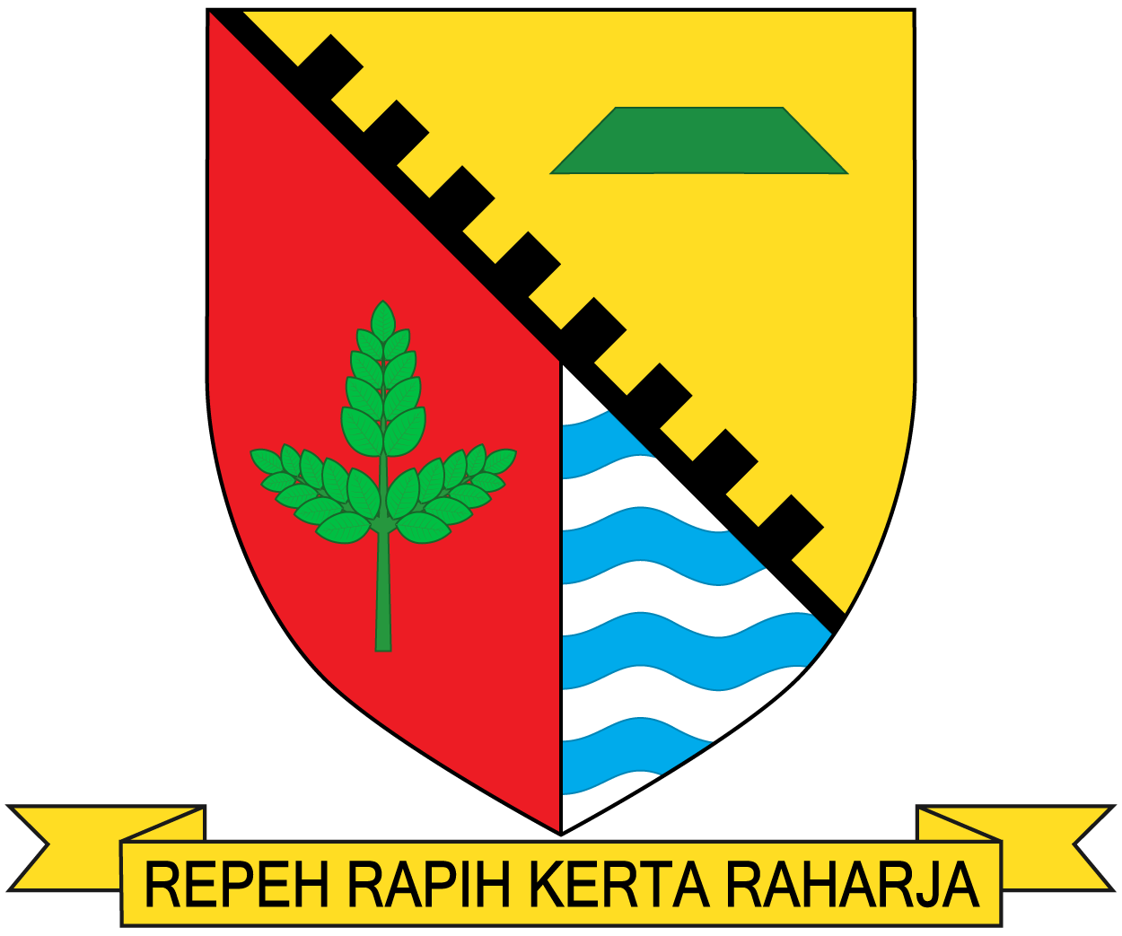 The Jarrdin Cihampelas Kota Bandung Jawa Barat: Berkas:Lambang Kabupaten Bandung.png