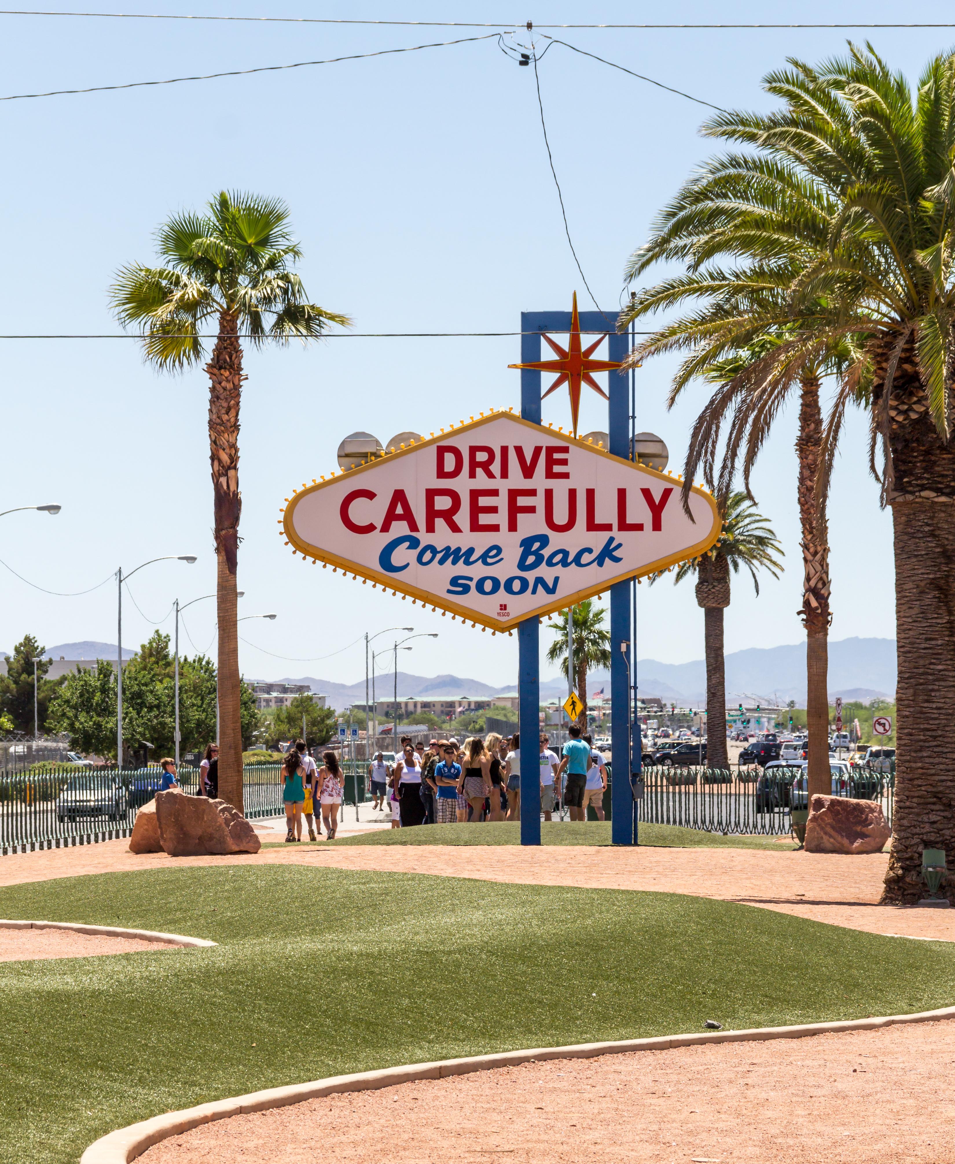 Rückseiten in Las Vegas Nevada