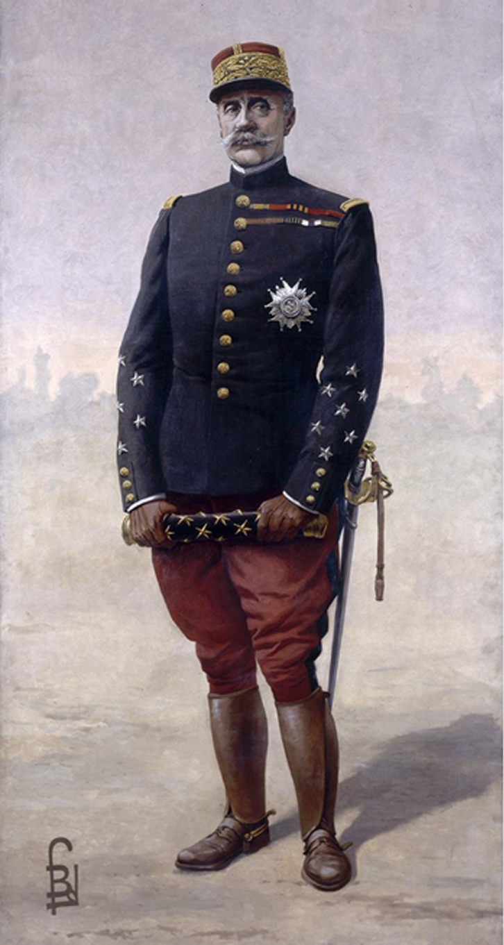 File Le Mar 233 Chal Foch Par Louis Bombled 1920 Jpg