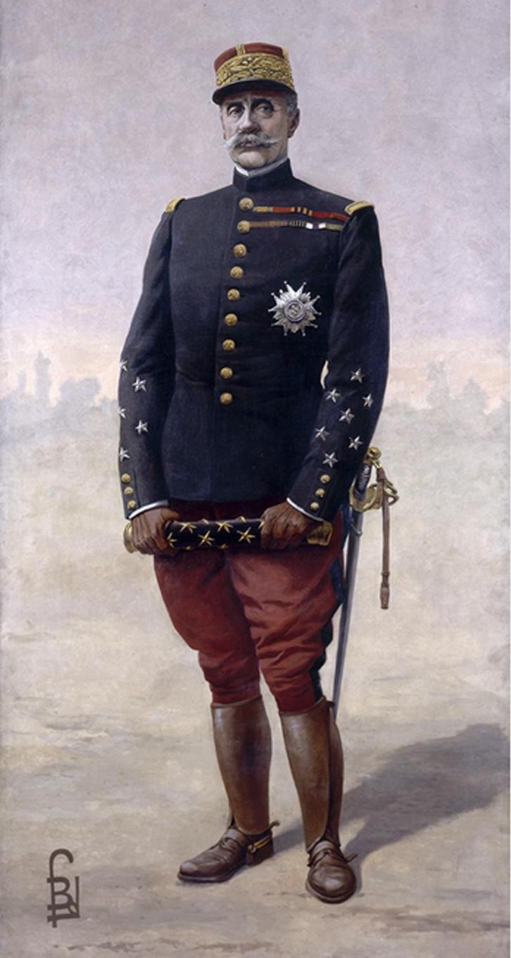 File Le Mar 233 Chal Foch Par Louis Bombled 1920 Jpg