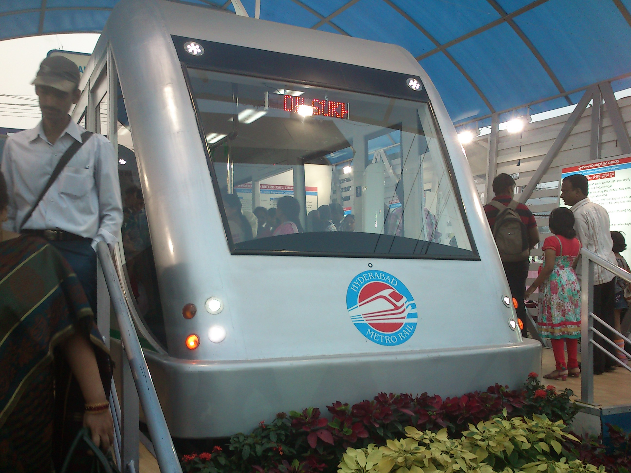 Exhibition Stall Wiki : After eight long years hyderabad s new metro to roll out