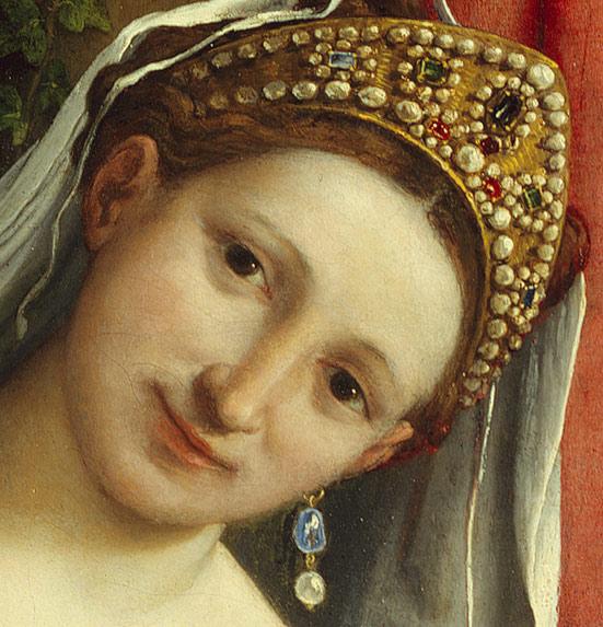 Venus i Cupido, Lorenzo Lotto