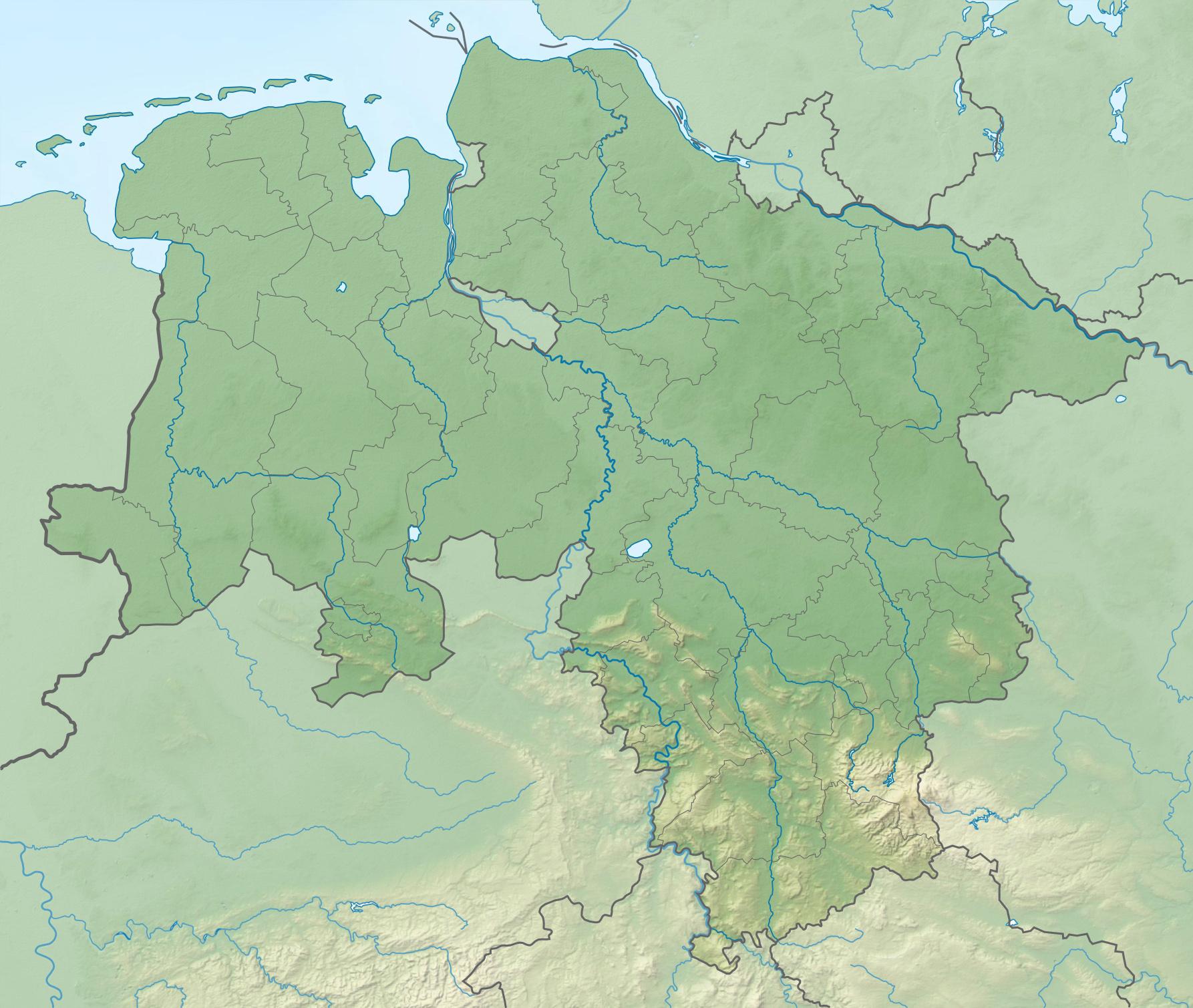 germany niedersachsen locations