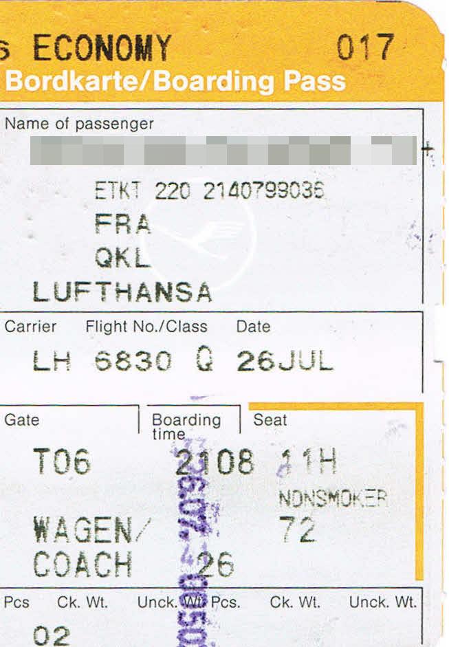 Lufthansa buchung bearbeiten