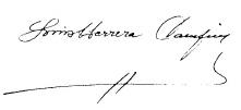 Luis Herrera firma