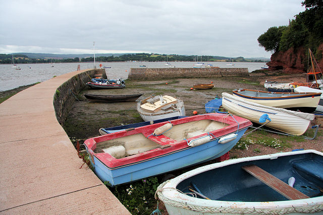 Lympstone Harbour - geograph.org.uk - 1416170