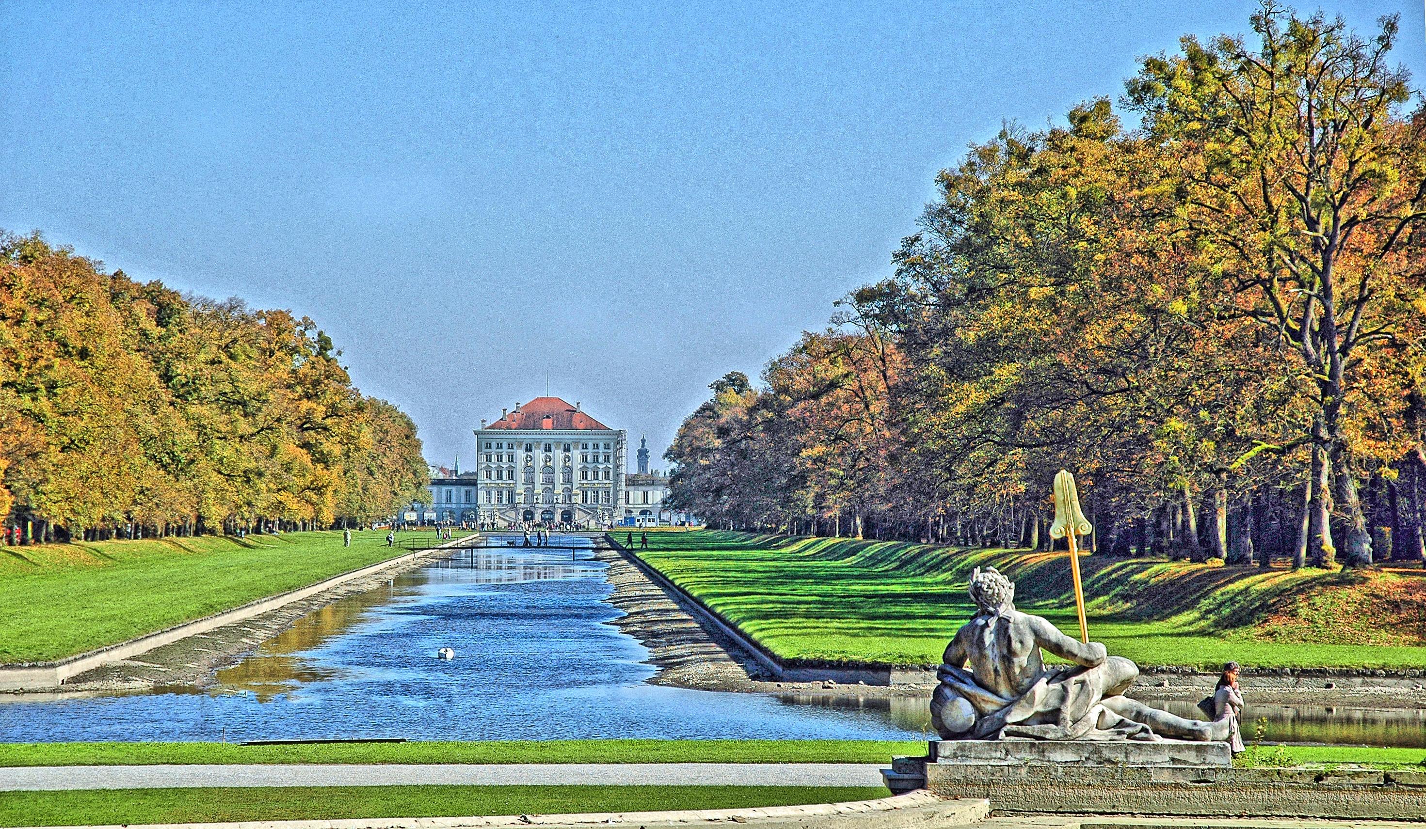 File:München - Schloss Nymphenburg Park (tone-mapping).jpg ...