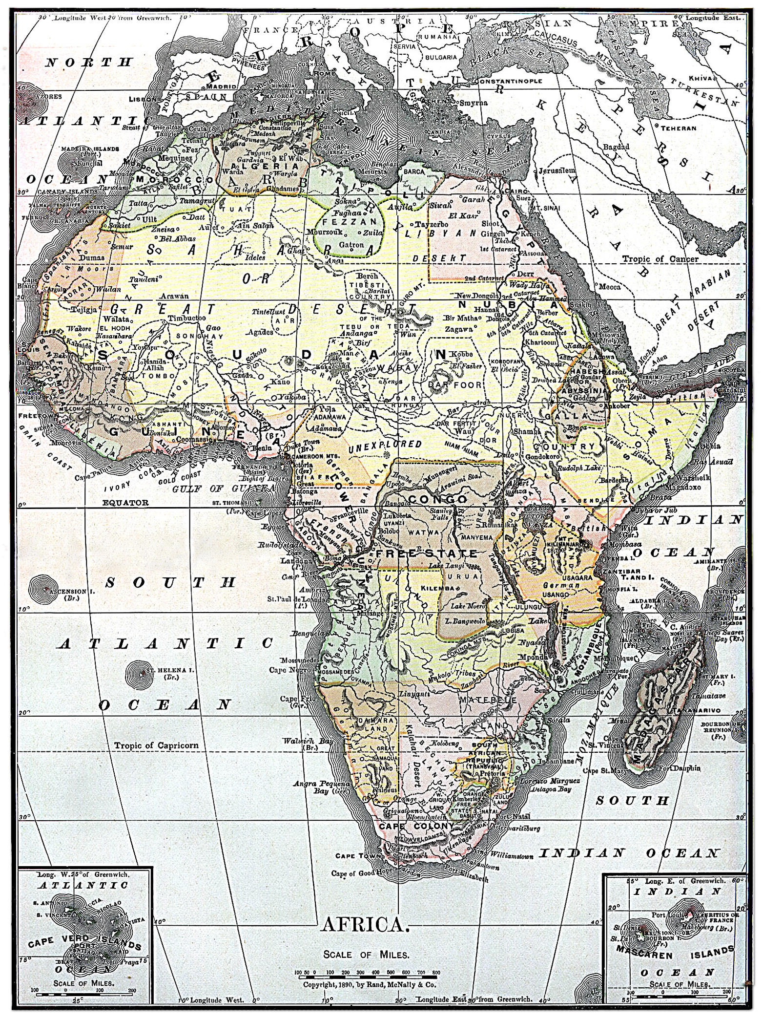 Map Of Africa 2010.File Map Of Africa From Encyclopaedia Britannica 1890 Jpg