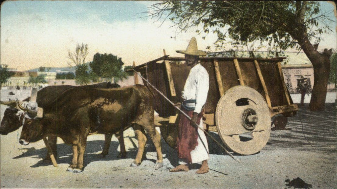 Mexican Ox Cart