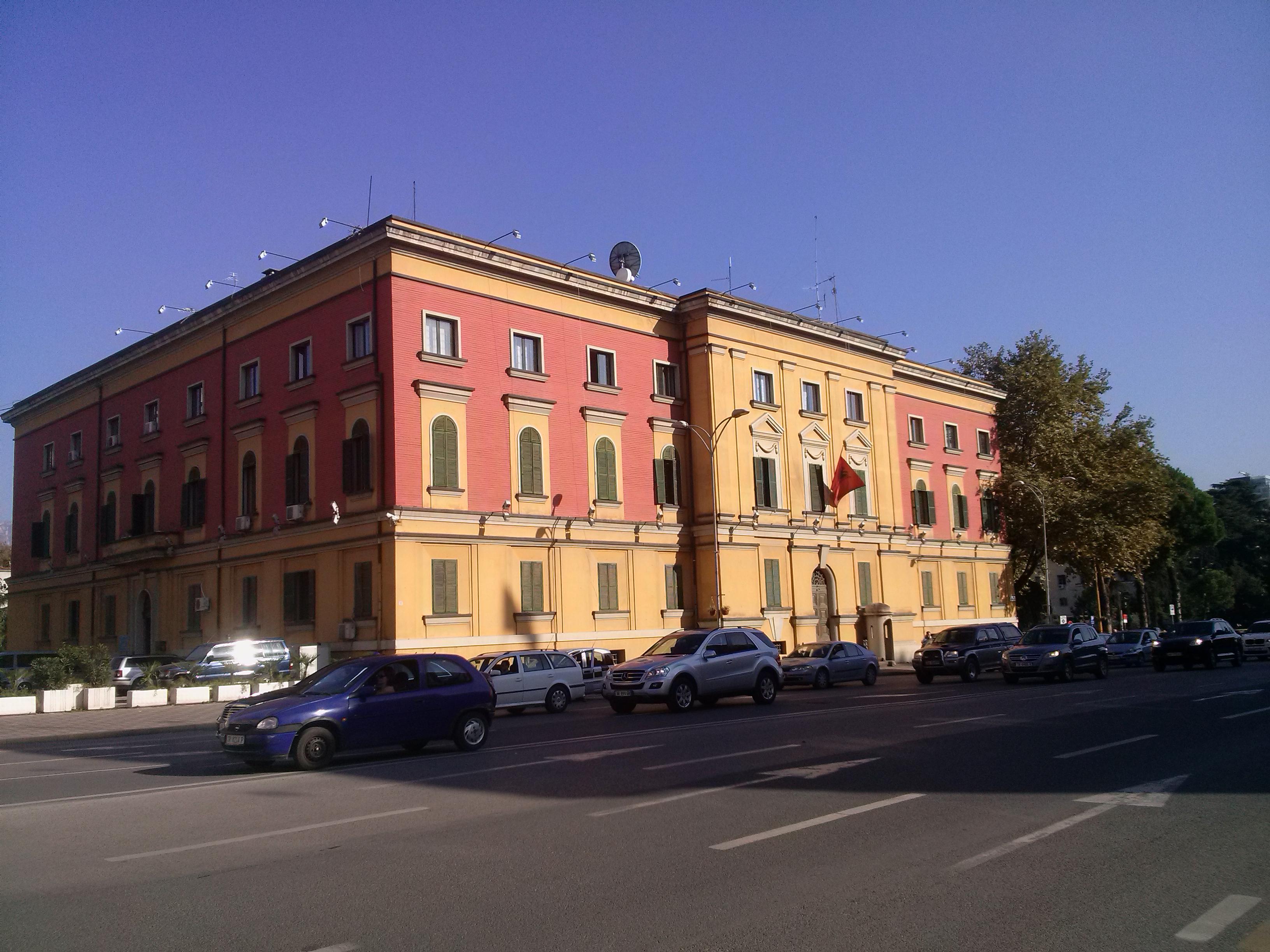 File:Ministria e Mjedisit të Shqipërisë. Ministero dell'Ambiente ...