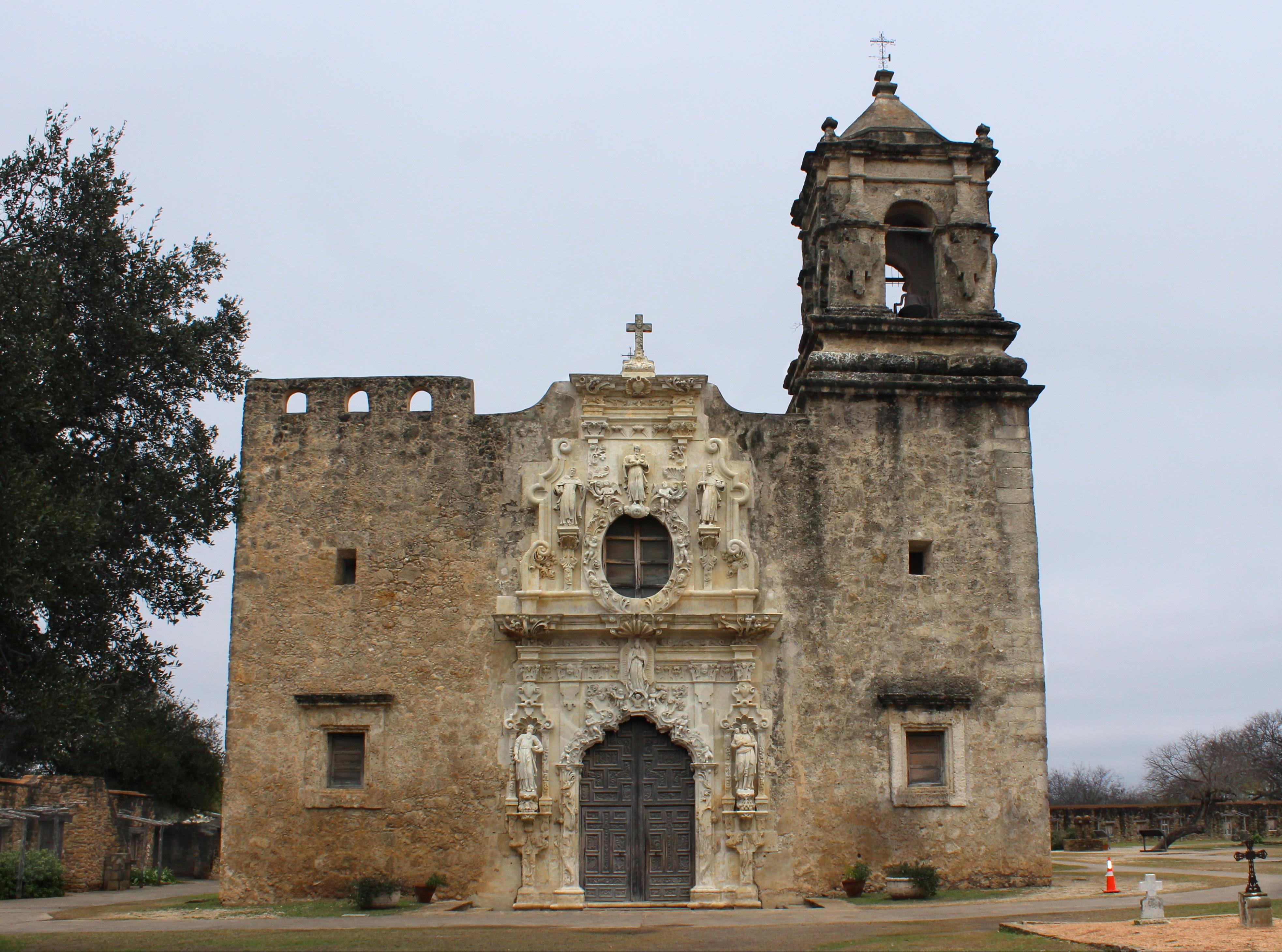 Mission San José y San Miguel de Aguayo - San Antonio, TX - 1782 :  catholicarchitecture