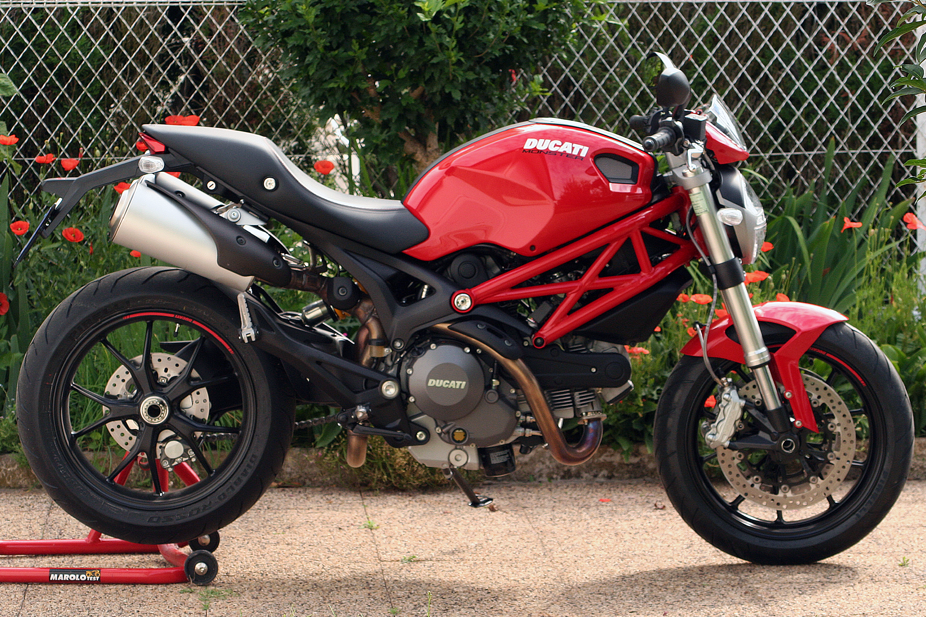 Ducati Monster  Custom Parts