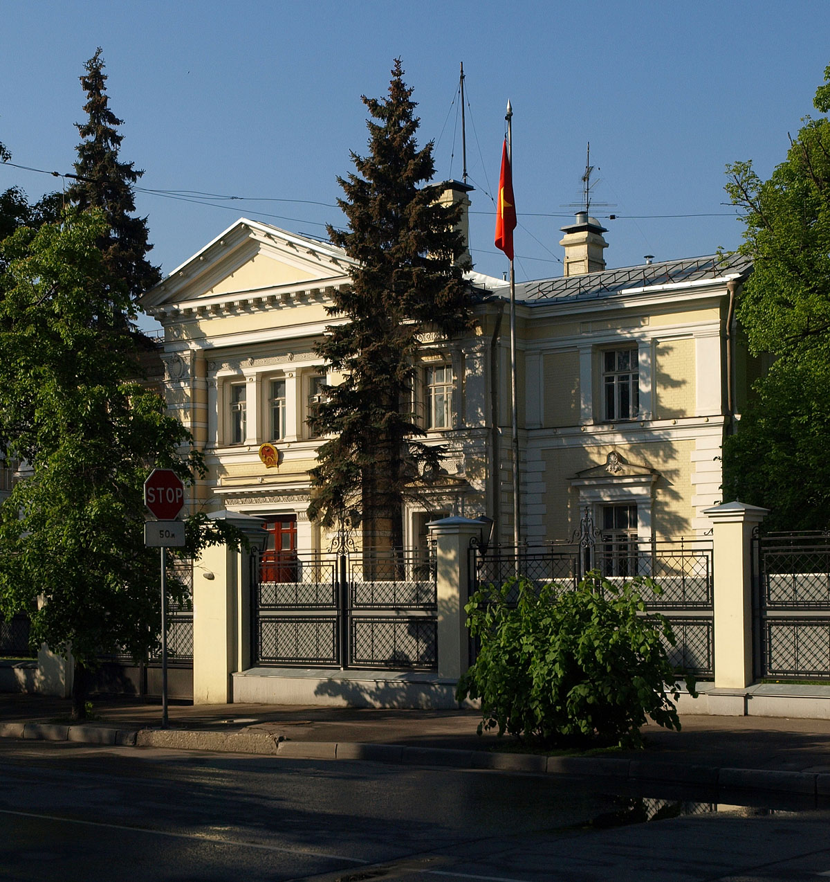 Be click Russian embassy to
