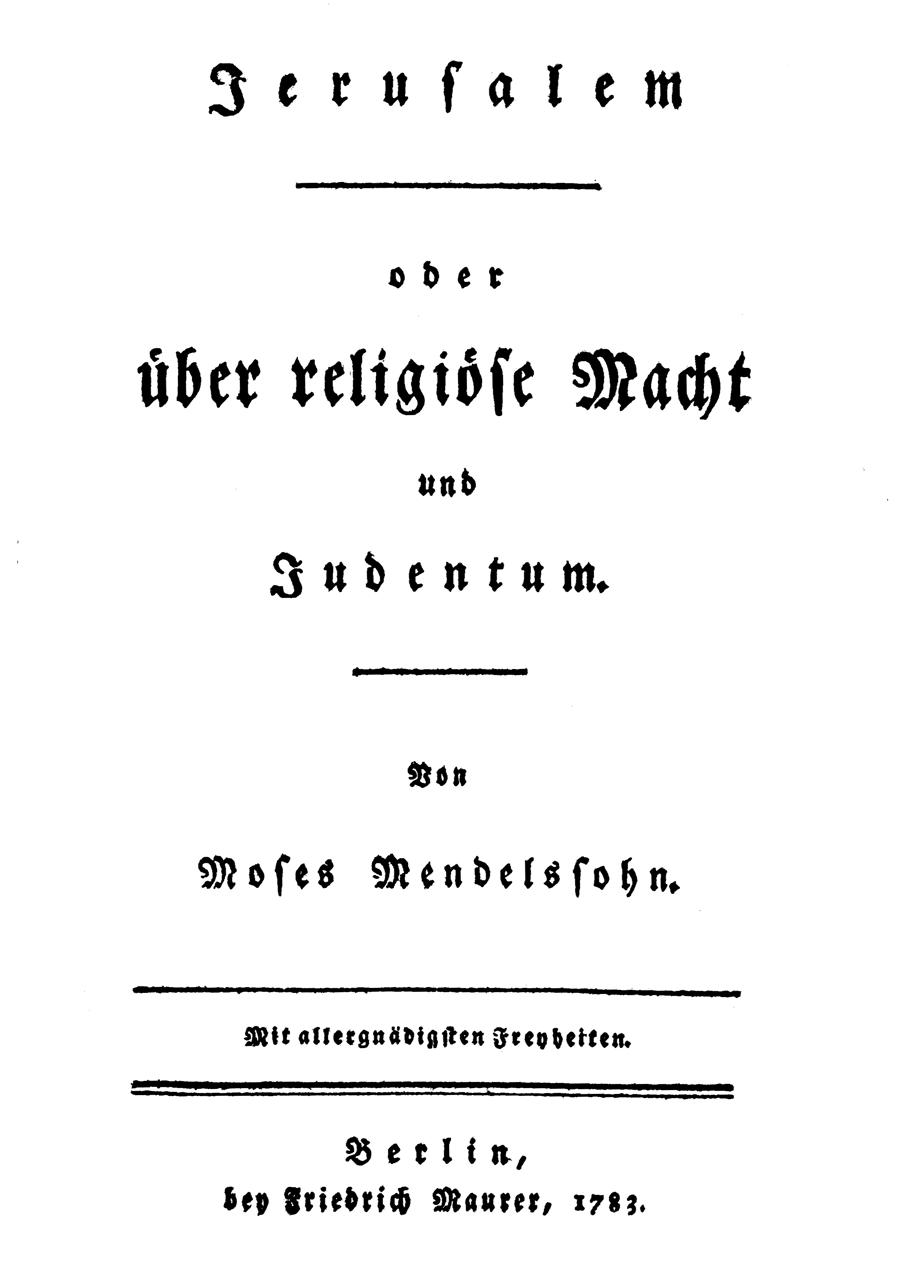 Jerusalem (Mendelssohn)