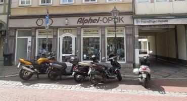 Motorradparkplatz Papendiek