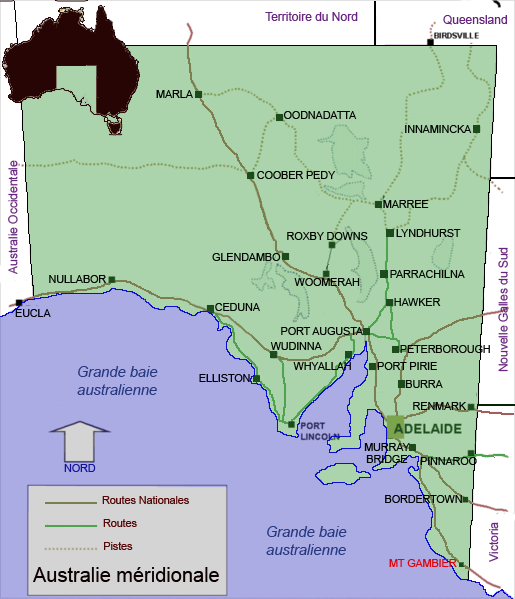 Mount Gambier Australia  city photos : Mount Gambier, Australie méridionale Wikimedia Commons