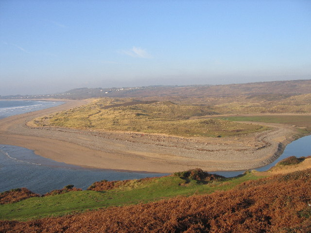 Mouth of River Ogmore, Ogmore-by-Sea, Wales - geograph.org.uk - 90093