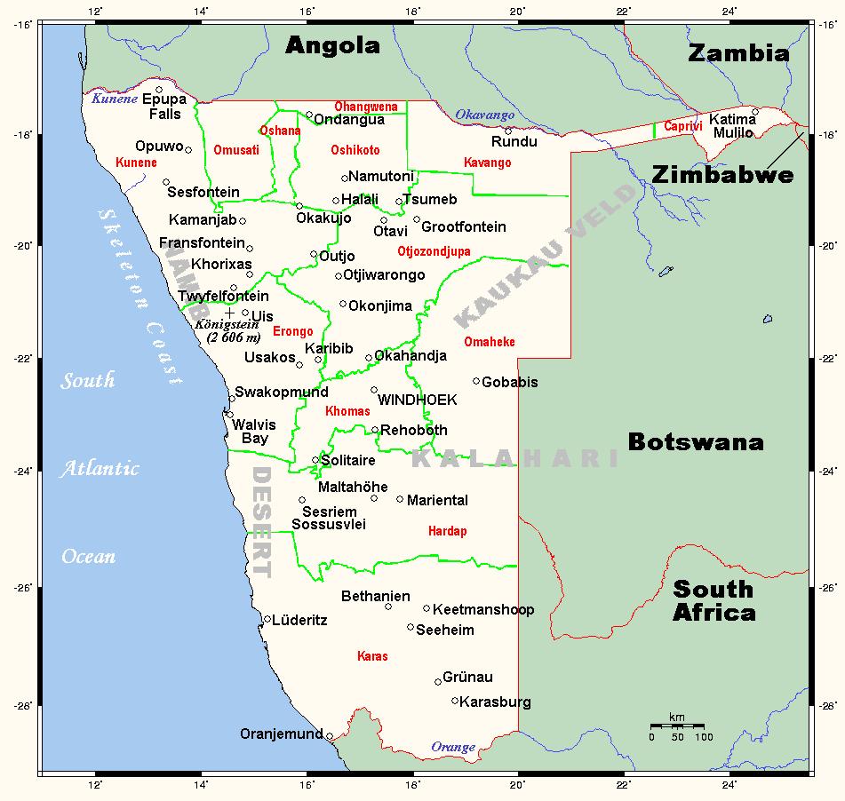 platte grond noord afrika