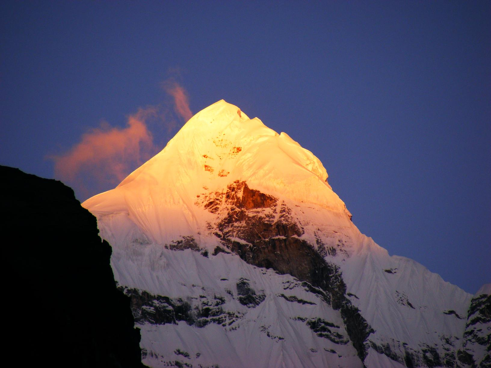 View from Badrinath