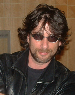 Neil Gaiman in 2004.