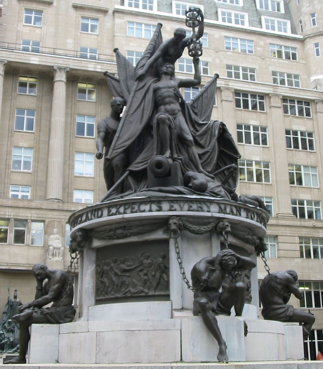 File Nelson Monument Liverpool 5 Jpg Wikimedia Commons
