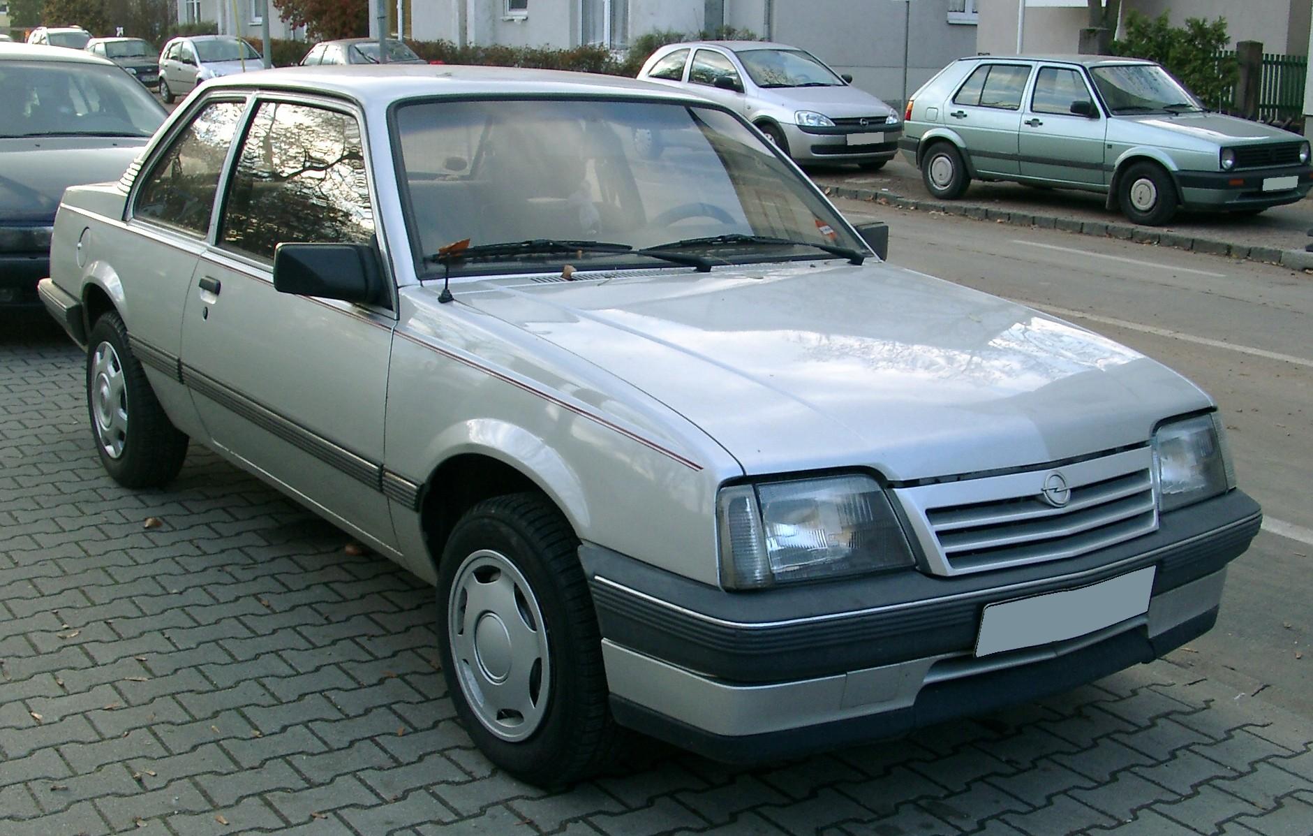 Opel Ascona Wikiwand