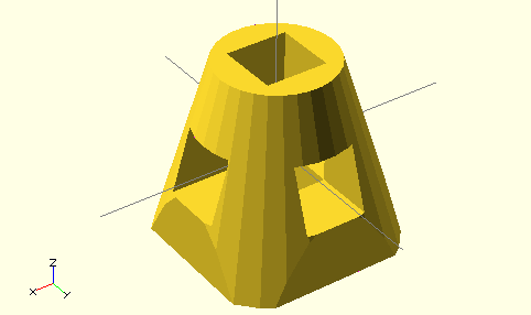 OpenSCAD User Manual/3D to 2D Projection - Wikibooks, open