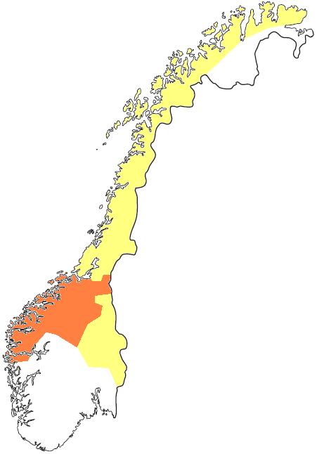 hvor mange dialekter er det i norge Kragerø