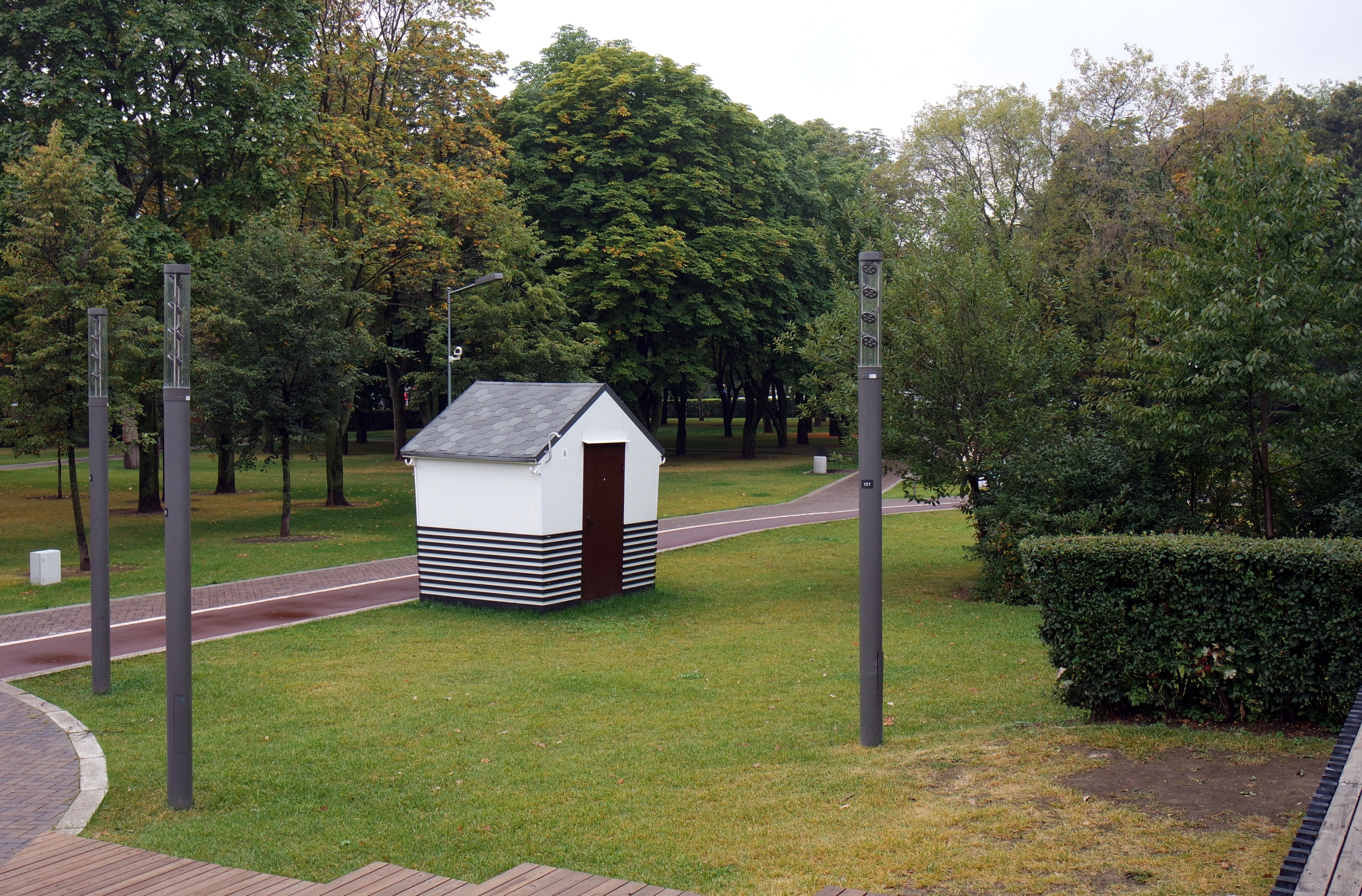 Goncharovsky Park in Moscow: address, how to get 91