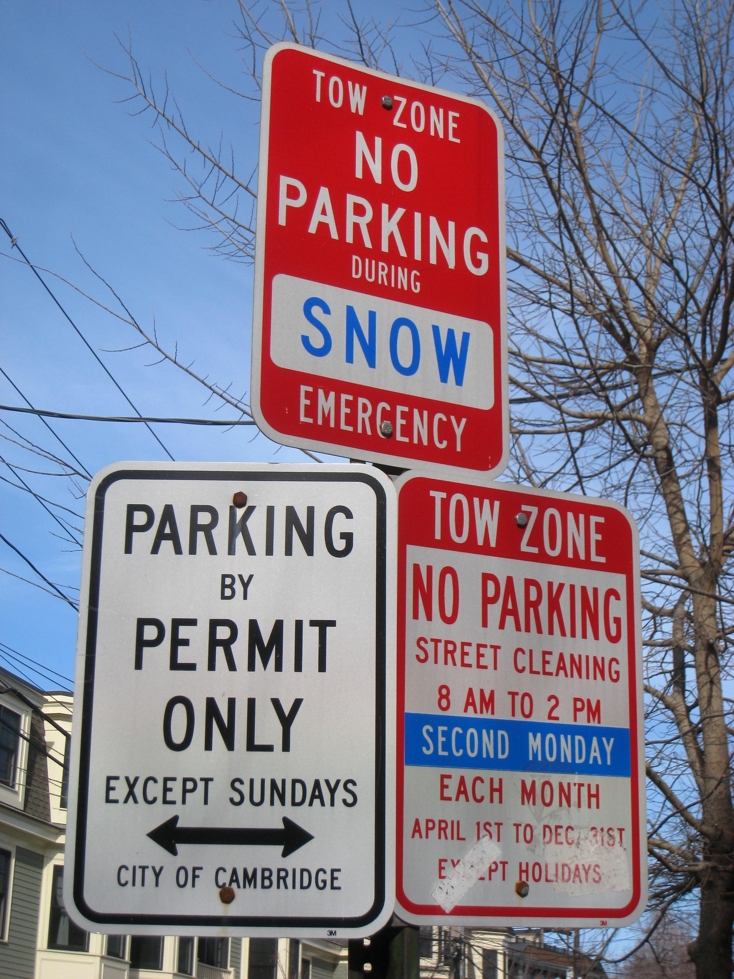 File:Parking signs - Cambridge, MA - IMG 3992.JPG