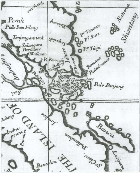 early history of singapore wikipedia 16th Century Map