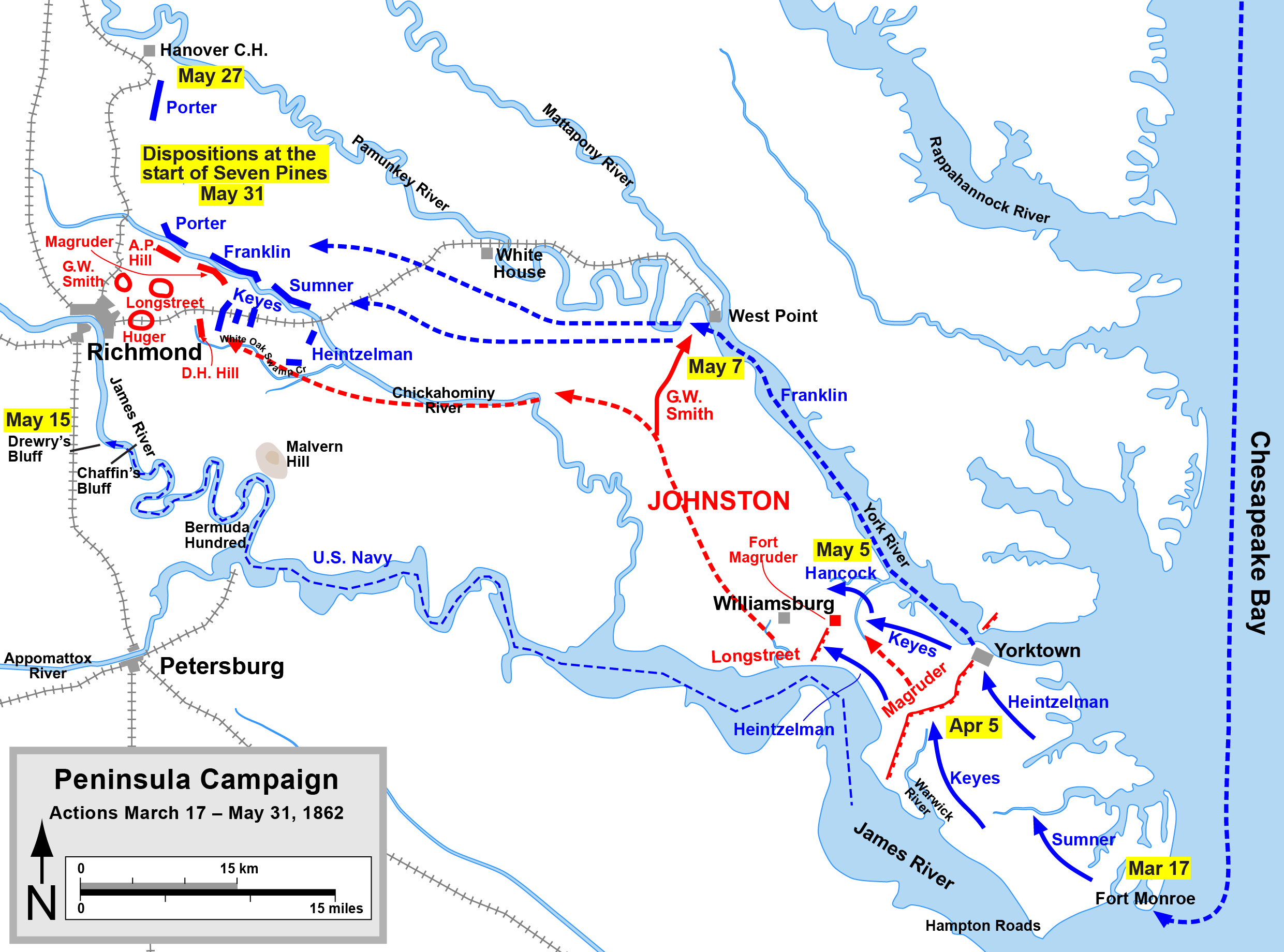 a description of the battle at hampton roads which was part of the peninsula campaign The battle of hampton roads historian page when did the battle occur march 8-9 virginia by way of the peninsula.