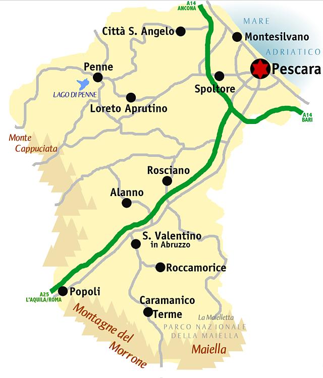 Pescara Cartina.File Pescara Mappa Png Wikipedia