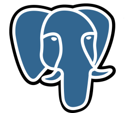 PostgreSQL logo.