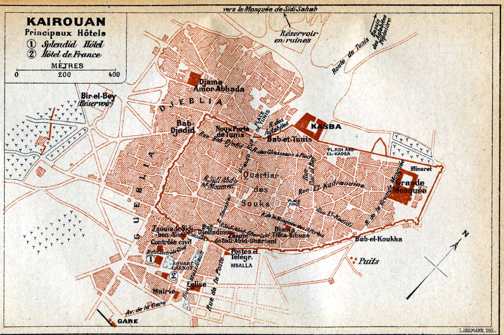 FilePlan Kairouan 1916jpg Wikimedia Commons