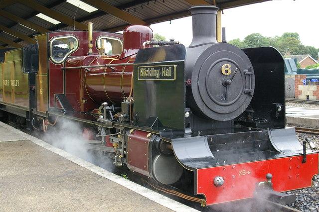 Platform, Aylsham Station - geograph.org.uk - 624233