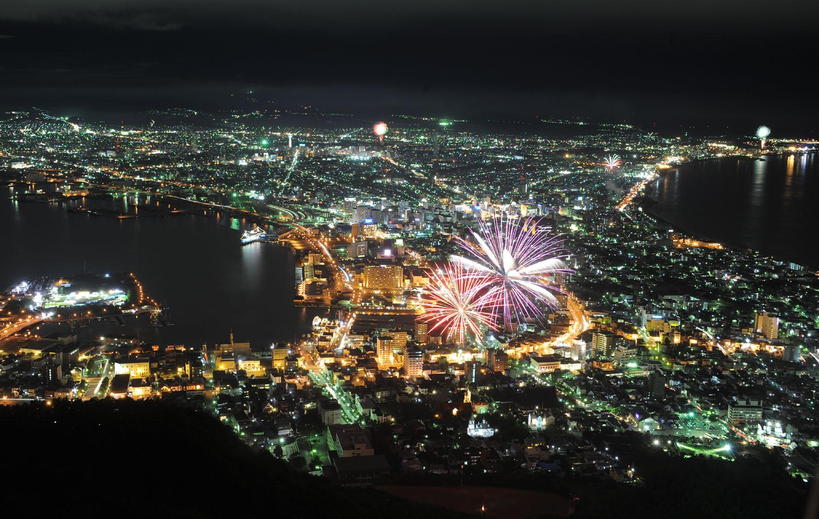 ファイル play of fireworks and night scenes in hakodate jpg wikipedia