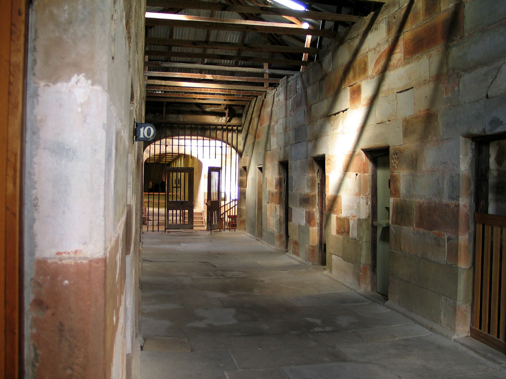 Inside Port Arthur Penal Colony