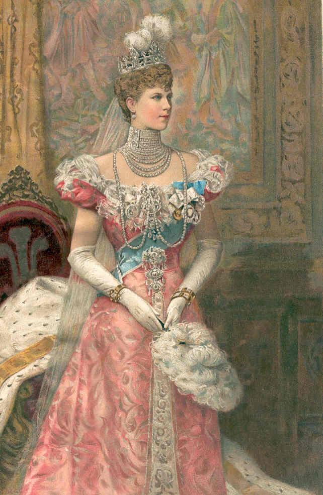 Mary, Princesa de Teck y George V. PrincessofWales1902