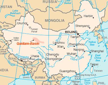 Qaidam-Becken – Wikipedia