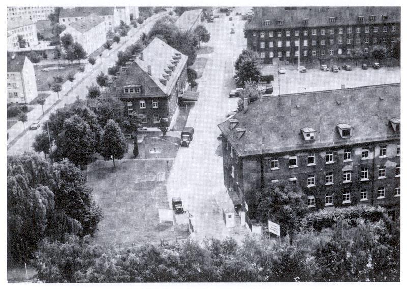 Neu-Ulm Germany  city photos gallery : Beschreibung Reinhardt Kaserne Neu Ulm Nelson Barracks 1950