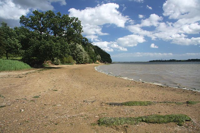River Orwell foreshore at Nacton - geograph.org.uk - 861667
