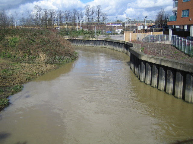 River Roding in Ilford - geograph.org.uk - 361558