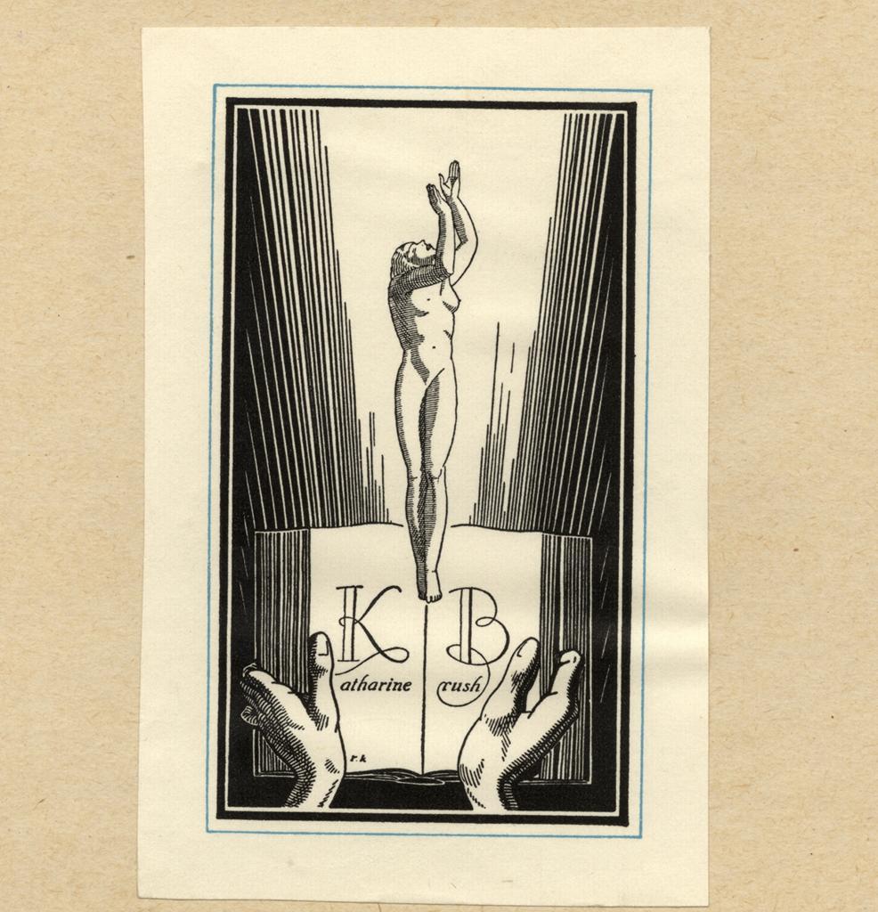 File Rockwell Kent Bookplate Katharine Brush Jpg