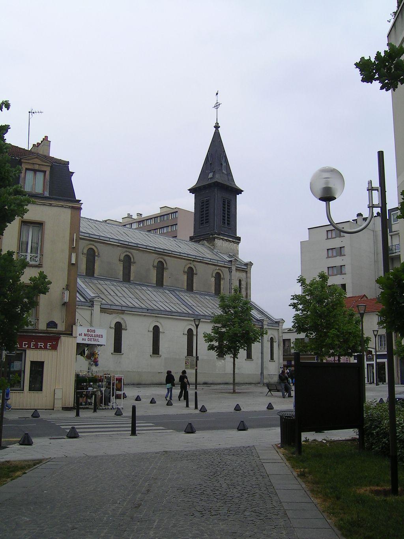 FichierRosny sous Bois Eglise Sainte Genevievejpg