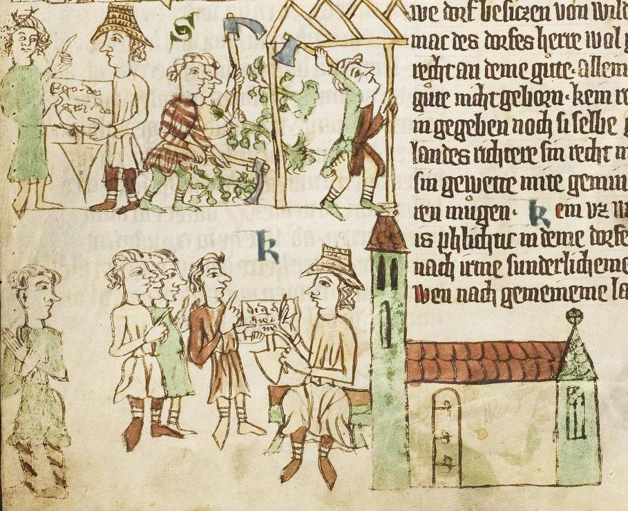 Medieval thread - AnthroScape