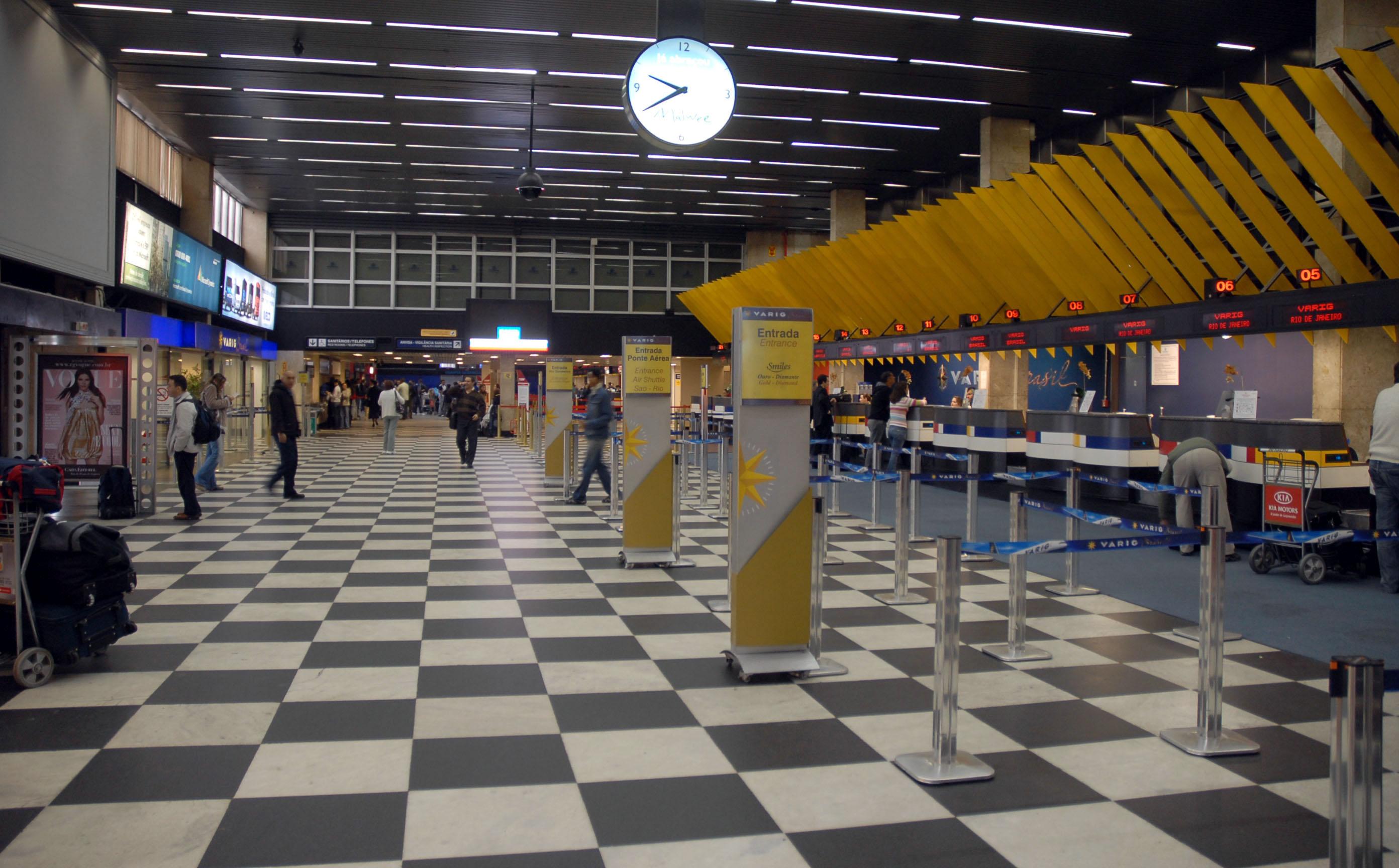 Aeroporto Sp : Aeroporto de são paulo congonhas u2013 wikipédia a enciclopédia livre
