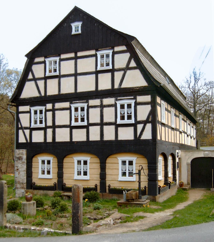 File schirgiswalde umgebindehaus mit for Fachwerk wiki